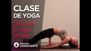 Core con la Yoga Wheel