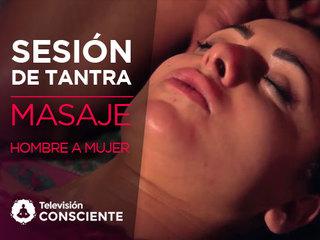 6.2 Masaje de hombre a mujer: cara, cabeza, cuello y activación de zonas erógenas en el torso