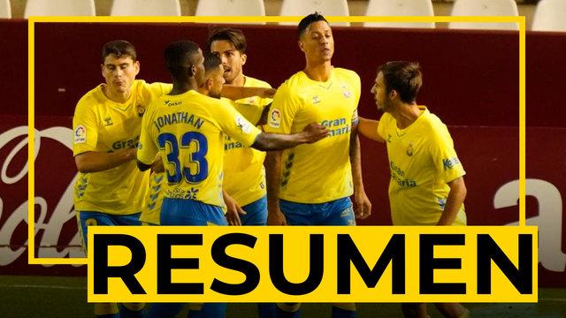 RESUMEN   Albacete - Las Palmas (1-1)