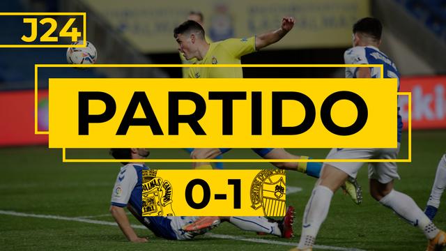 PARTIDO COMPLETO | Las Palmas - Sabadell (0-1)