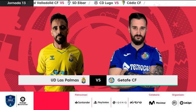 Jornada 13   UD Las Palmas 3-5 Getafe CF