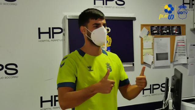 Araujo, Fabio y Kirian de reconocimiento médico en el HPS