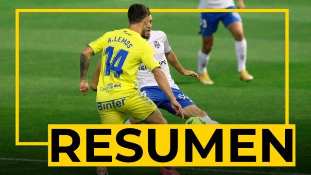 RESUMEN   Tenerife - UD Las Palmas (1-1)
