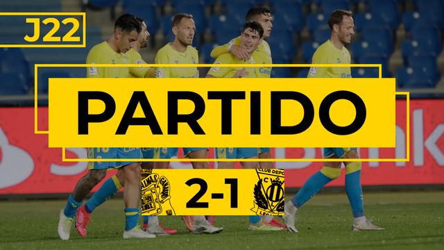 PARTIDO COMPLETO   Las Palmas - Leganés (2-1)