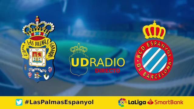 Así contamos lo contamos en UDRADIO | Las Palmas 1-0 Espanyol