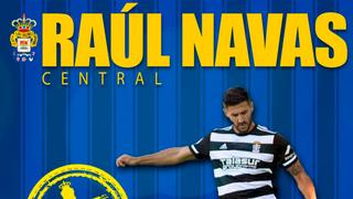 Raúl Navas refuerza la defensa de la UD
