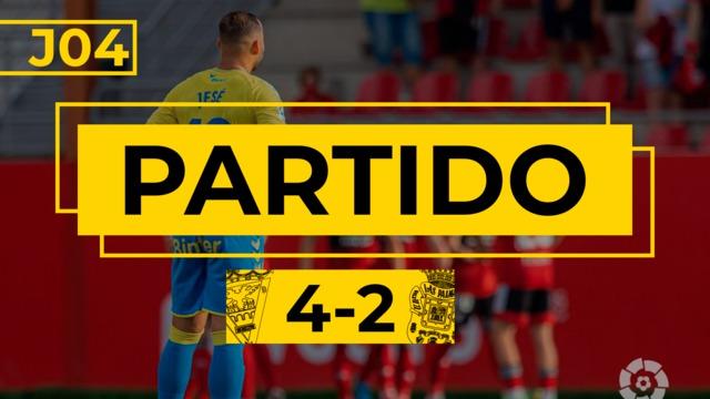 PARTIDO COMPLETO   Mirandés - Las Palmas (4-2)