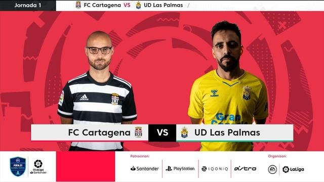 Jornada 1 | Las Palmas 2-8 Cartagena