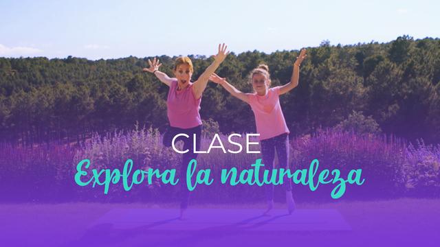 Yoga para niños - Explora la naturaleza
