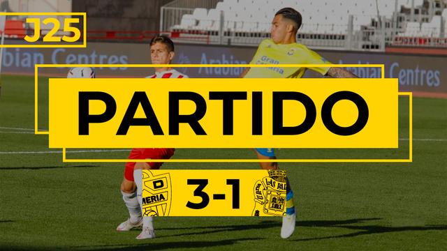 PARTIDO COMPLETO | Almería - Las Palmas (3-1)