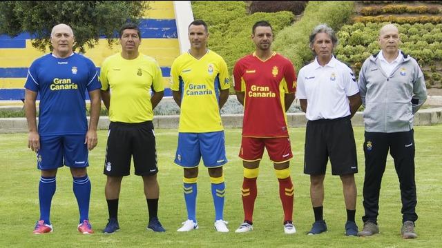 Presentación de las equipaciones 2019/20 en el Estadio Insular