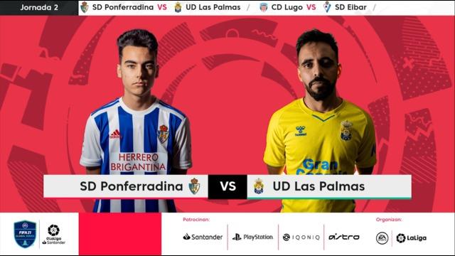 Jornada 2   SD Ponferradina 6-5 UD Las Palmas