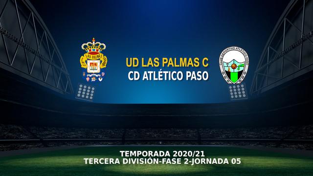 Jornada 4 (Fase 2)   Las Palmas C 1-0 Atlético Paso
