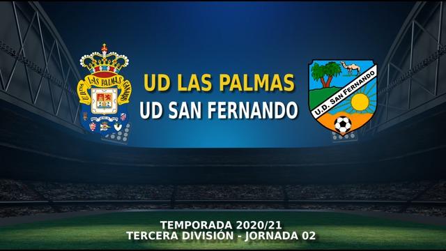 JORNADA 2   Las Palmas C 1-3 San Fernando