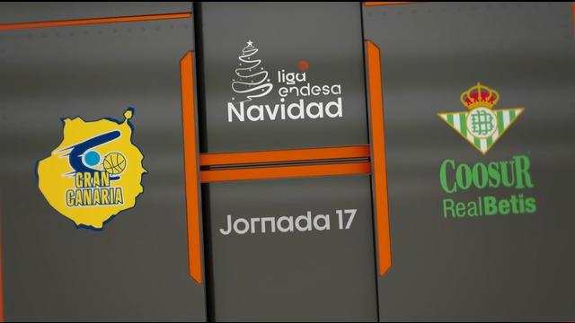 JORNADA 17 | Herbalife Gran Canaria 78-54 Coosur Real Betis