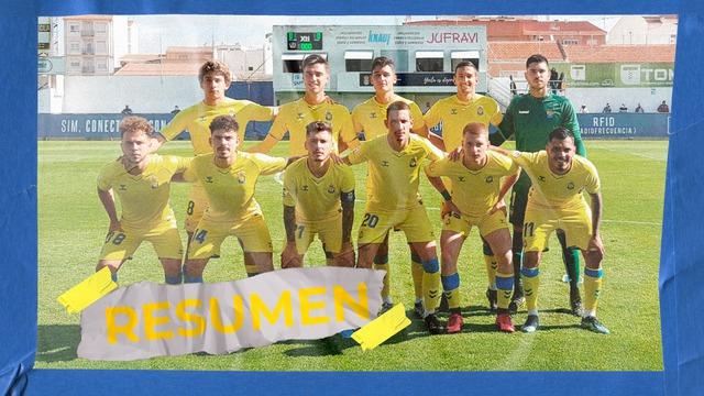RESUMEN | Yeclano - Las Palmas Atlético (2-1)