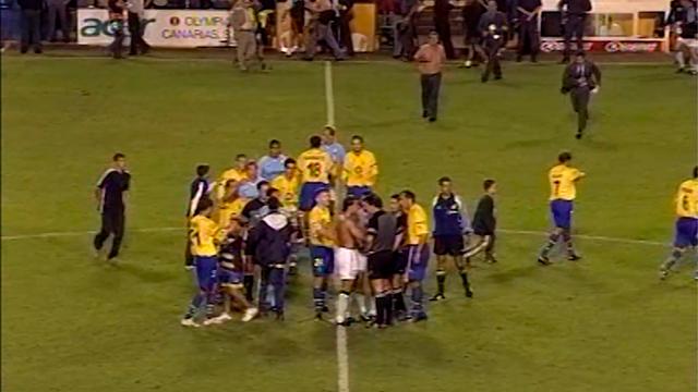 UD Las Palmas 4-2 RC Celta   Temp. 2001/02