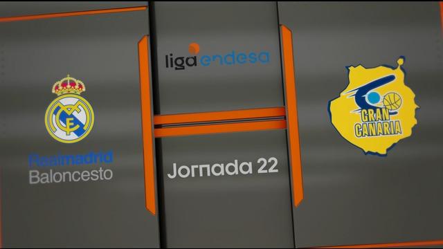 JORNADA 22 | Real Madrid 81-80 Herbalife Gran Canaria