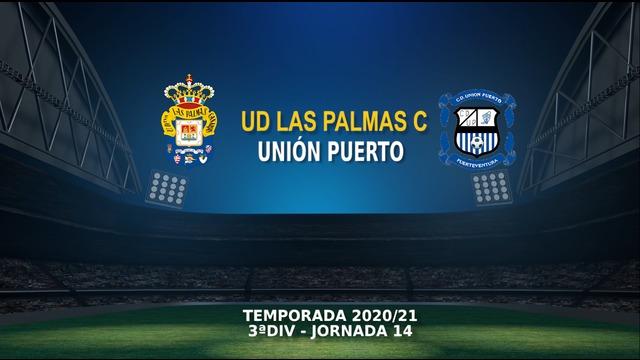 Jornada 14 | Las Palmas C 2-0 Unión Puerto
