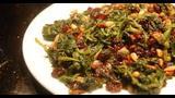 Cocina vegetariana: espinacas a la catalana