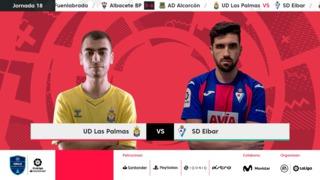 Jornada 18 | UD Las Palmas 1-7 SD Eibar