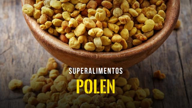 Superalimentos - El polen