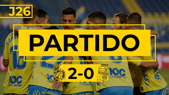 PARTIDO COMPLETO | Las Palmas - Cartagena (2-0)