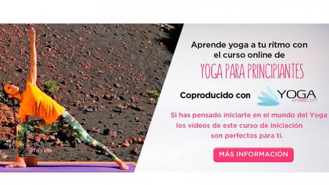 Yoga para principiantes, nuevo curso de Televisión Consciente en colaboración con Yoga en Red