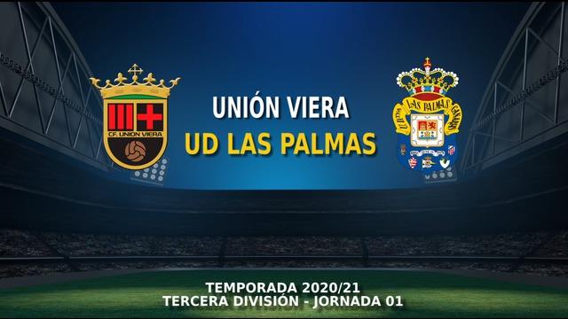 JORNADA 1   Unión Viera - Las Palmas C (4-1)
