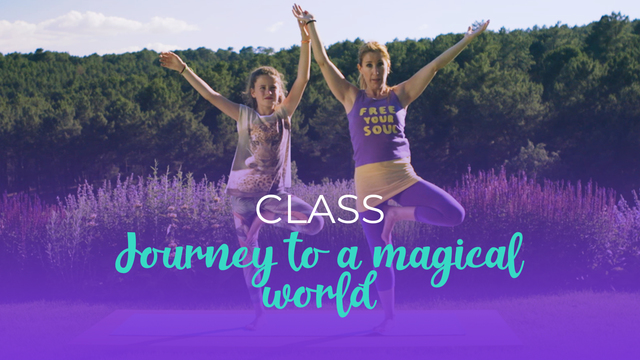 Yoga for children - Journey to a magical world