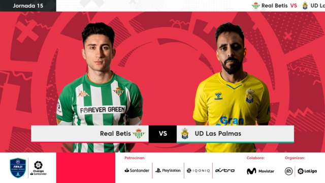Jornada 15   Real Betis 4-3 UD Las Palmas