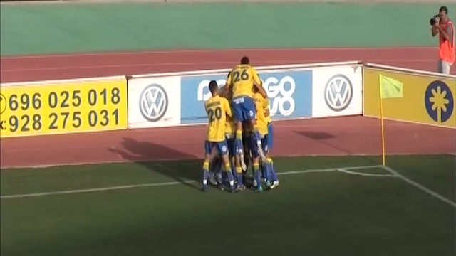 UD Las Palmas 3-2 Gimnástic Tarragona   Temp.2010/11