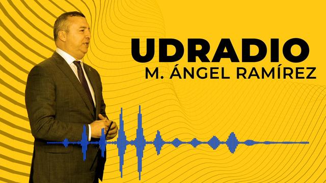 Miguel Ángel Ramírez felicita la Navidad en UDRadio